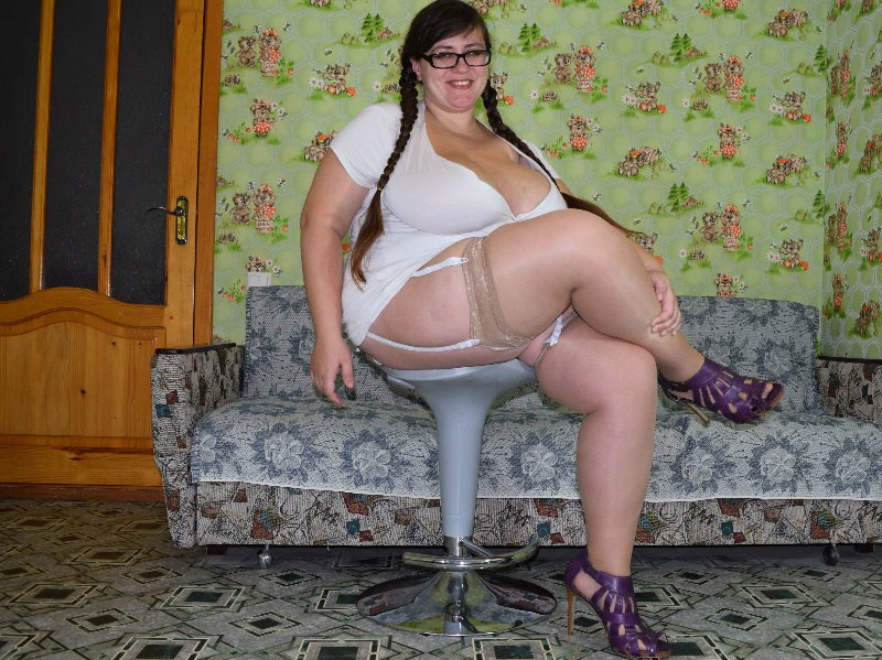 Over Size web cam model NinaDoll