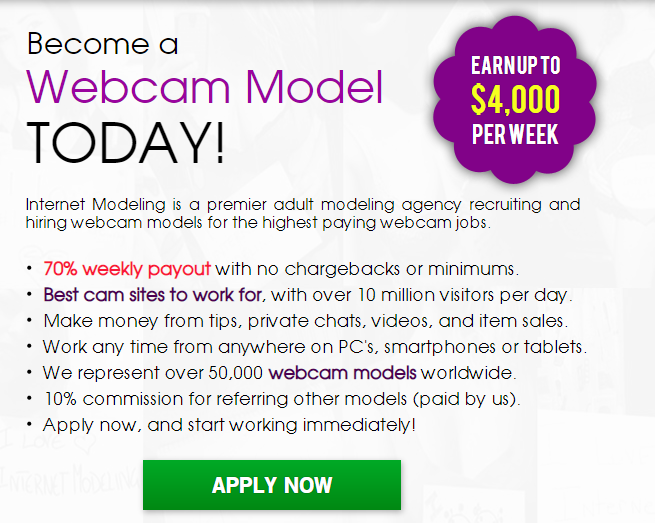 New Web cam model WANTED 2021